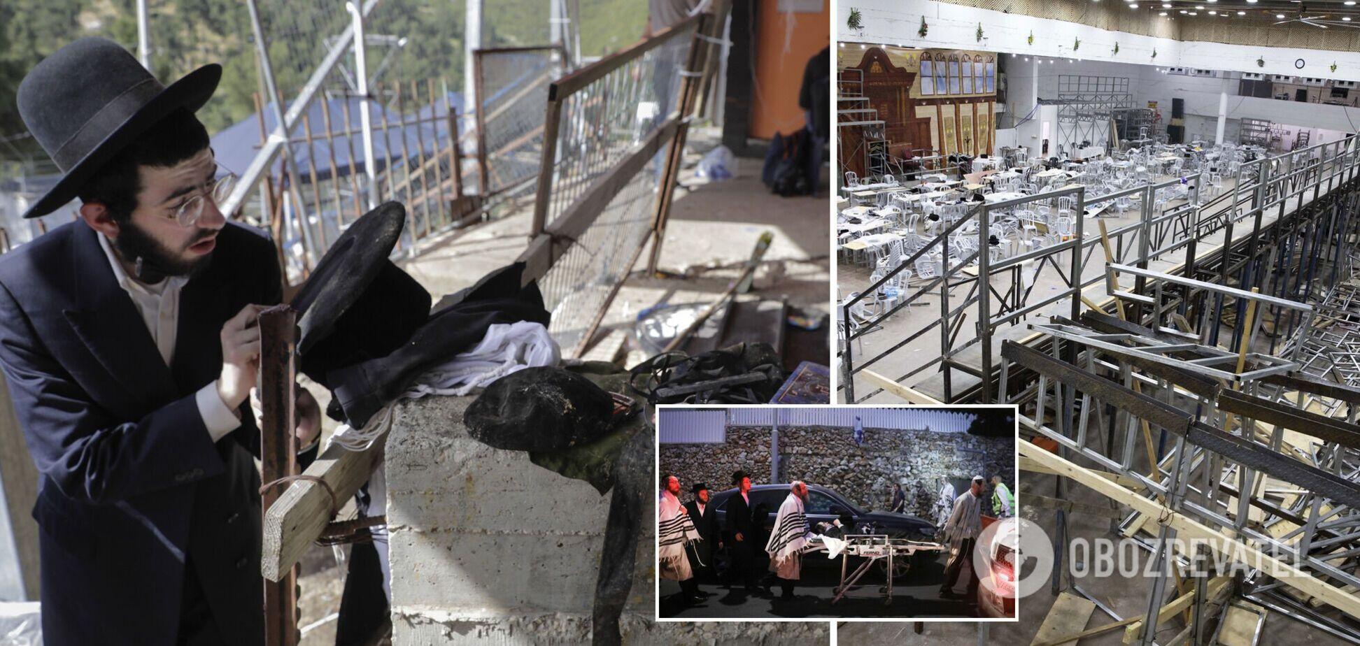 У синагозі Ізраїлю впала трибуна