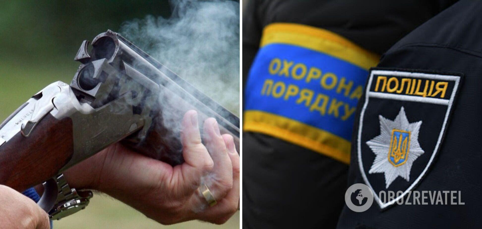 У Кирилівці чоловік влаштував стрілянину з рушниці: двоє осіб отримали важкі поранення