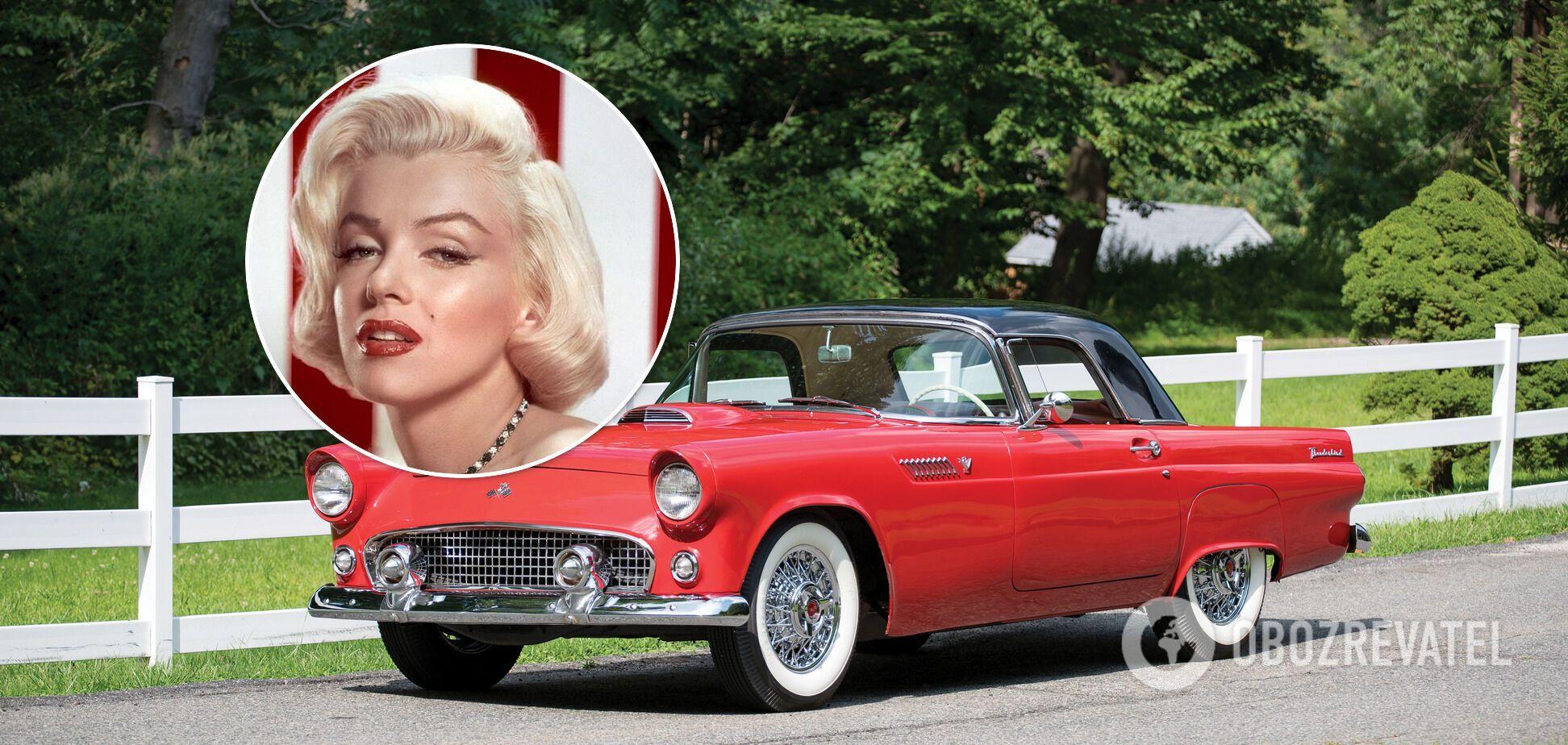 В Україні знайшли улюблену машину Мерилін Монро