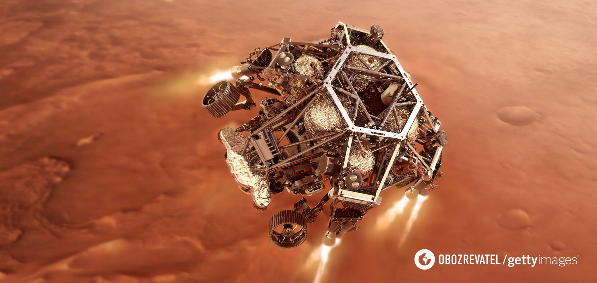 Вчений сказав, як із Землі могли занести життя на Марс