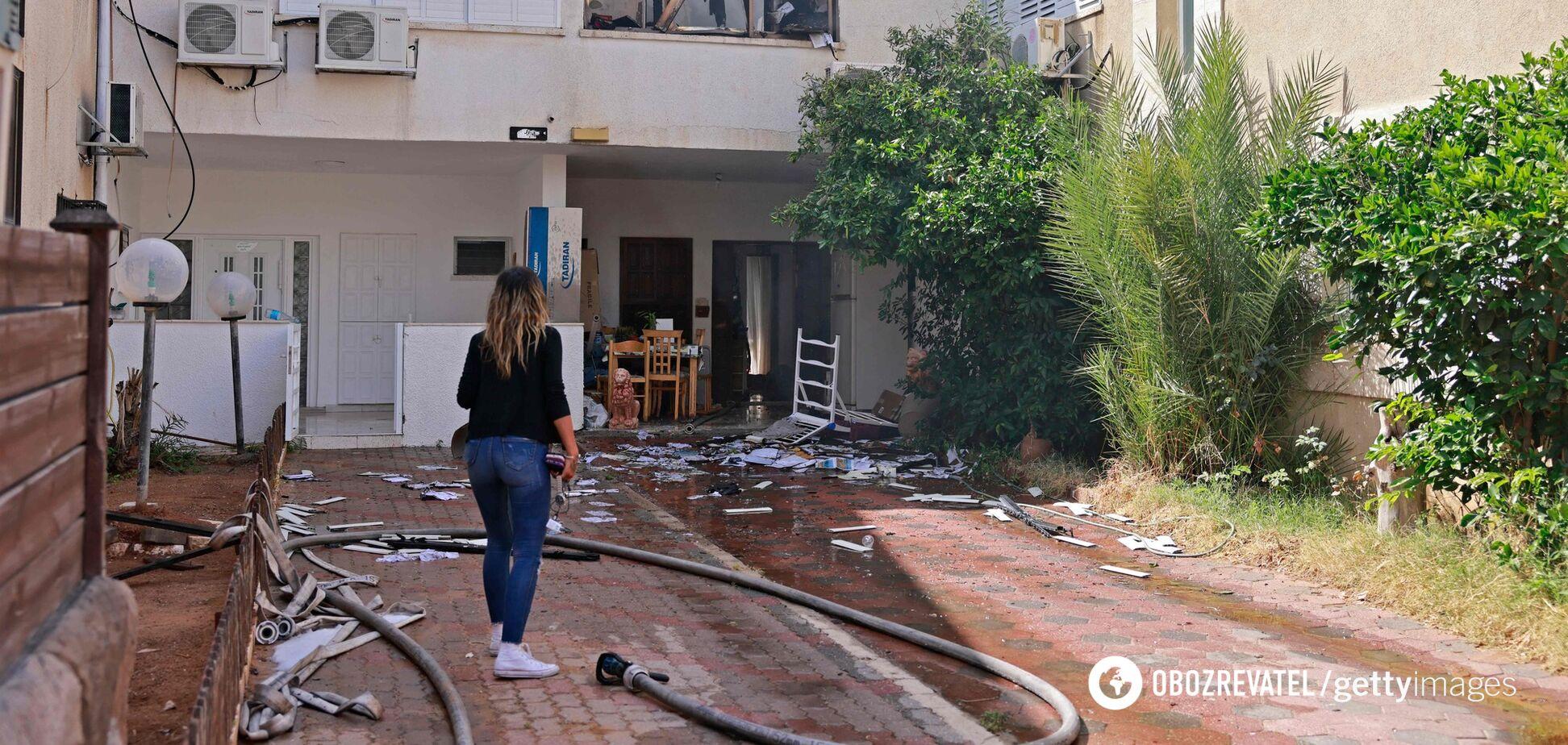 ХАМАС обстріляв місто в Ізраїлі, є поранені