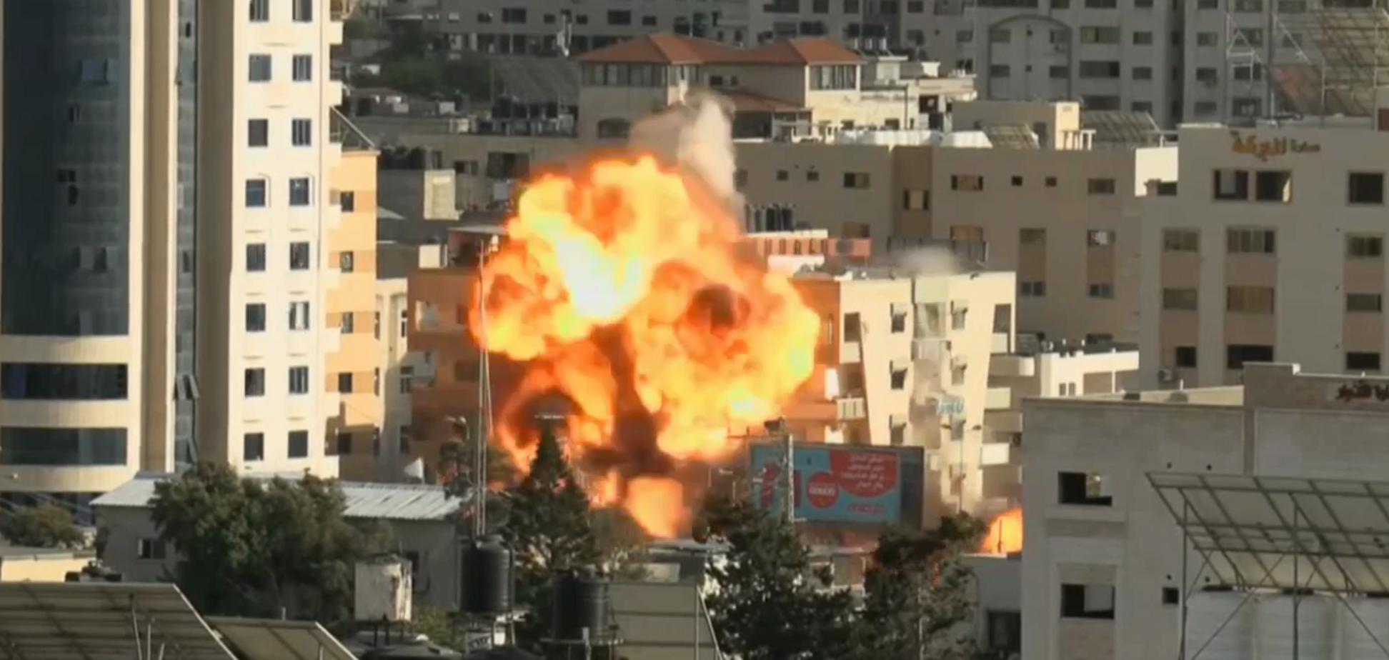 Авиация Израиля уничтожила один из оперштабов ХАМАСа