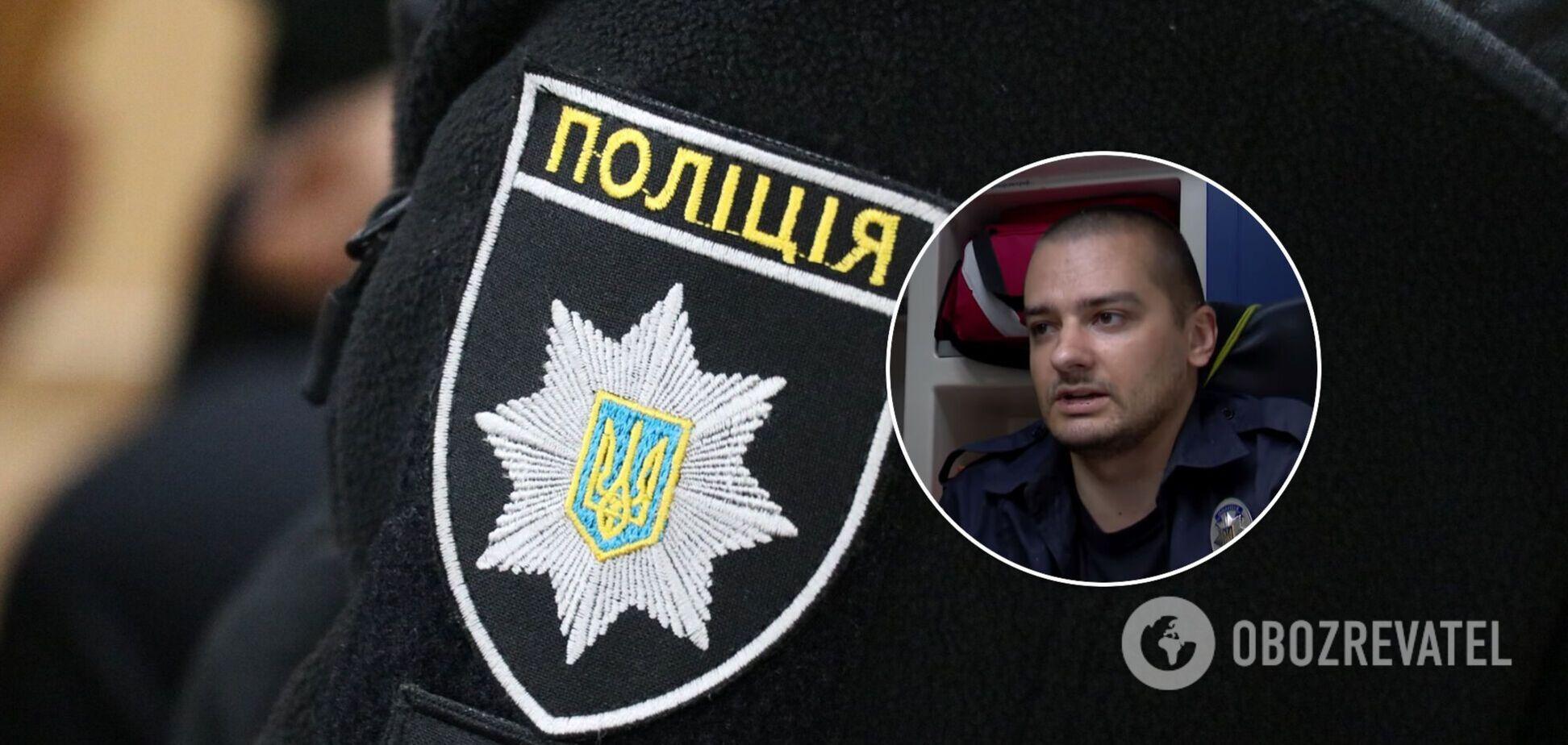 Троє співробітників поліції побили патрульного