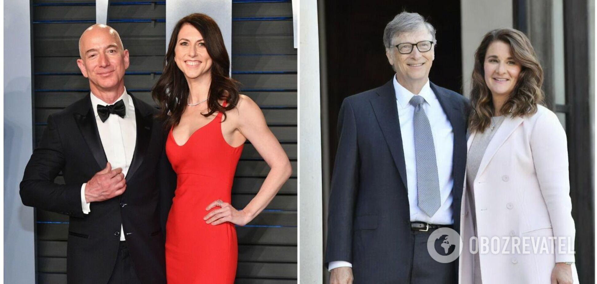 Заплатили за любов мільярди: гучні розлучення Білла Гейтса, Джеффа Безоса та інших найбагатших людей світу