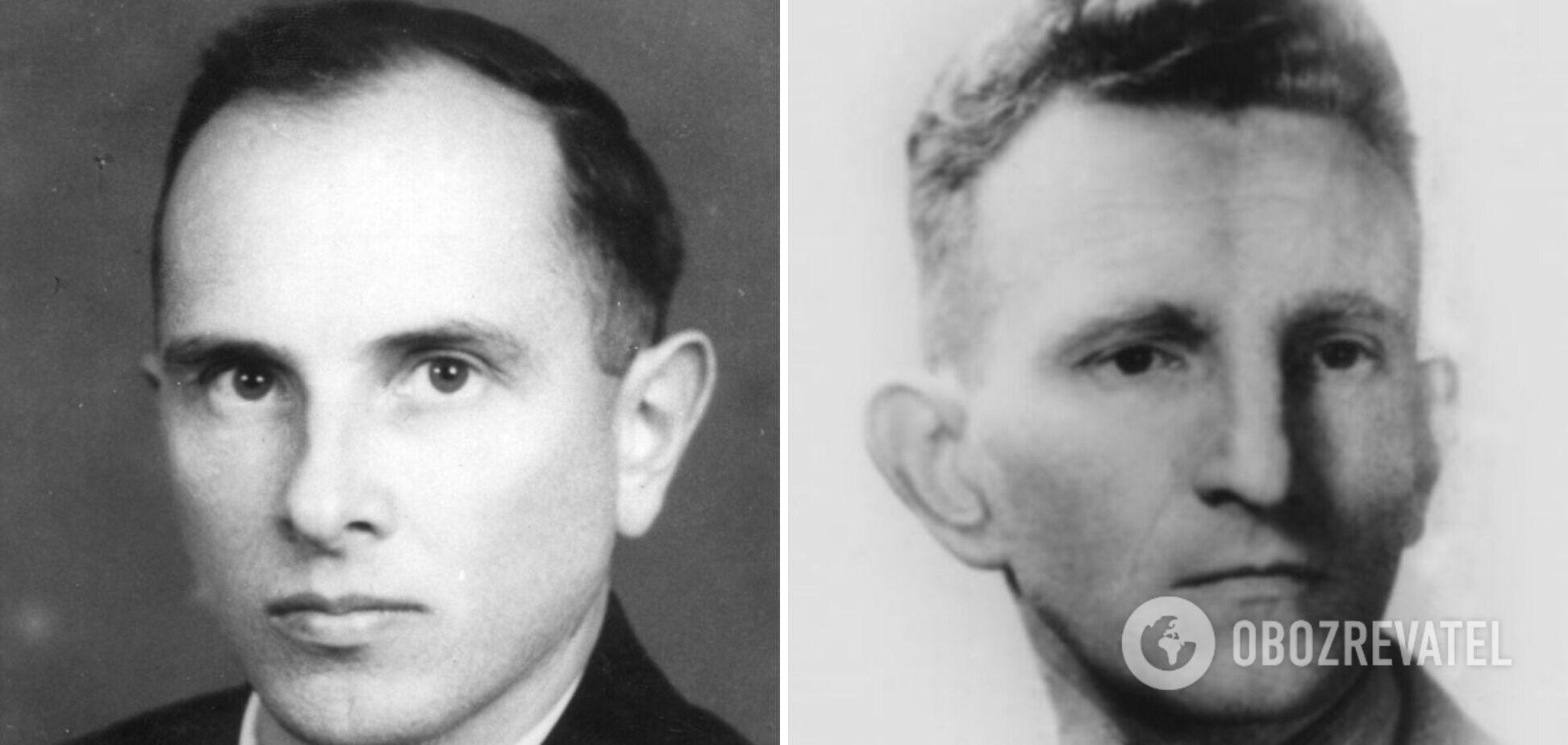 Лідери ОУН та УПА Степан Бандера та Роман Шухевич