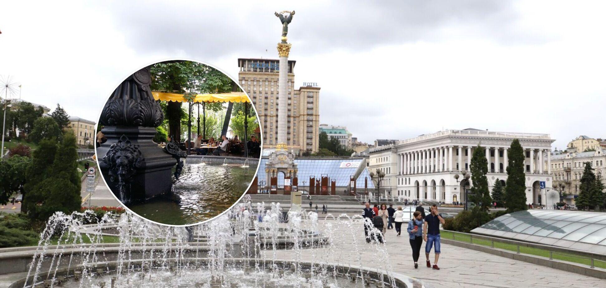 У Києві розпочався сезон фонтанів: де шукати найцікавіші водограї. Відео