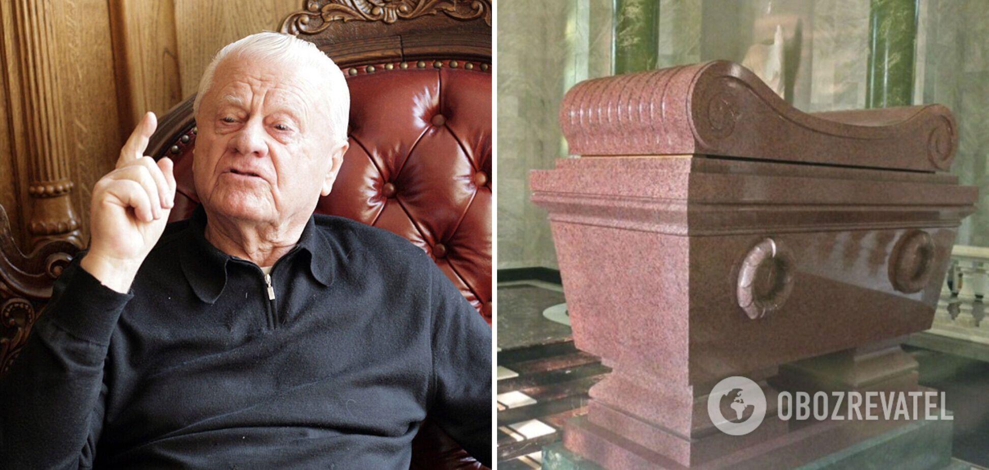 Скандальный аграрий Черниговщины построил себе мраморно-золотую 'гробницу Наполеона'. Фото и видео