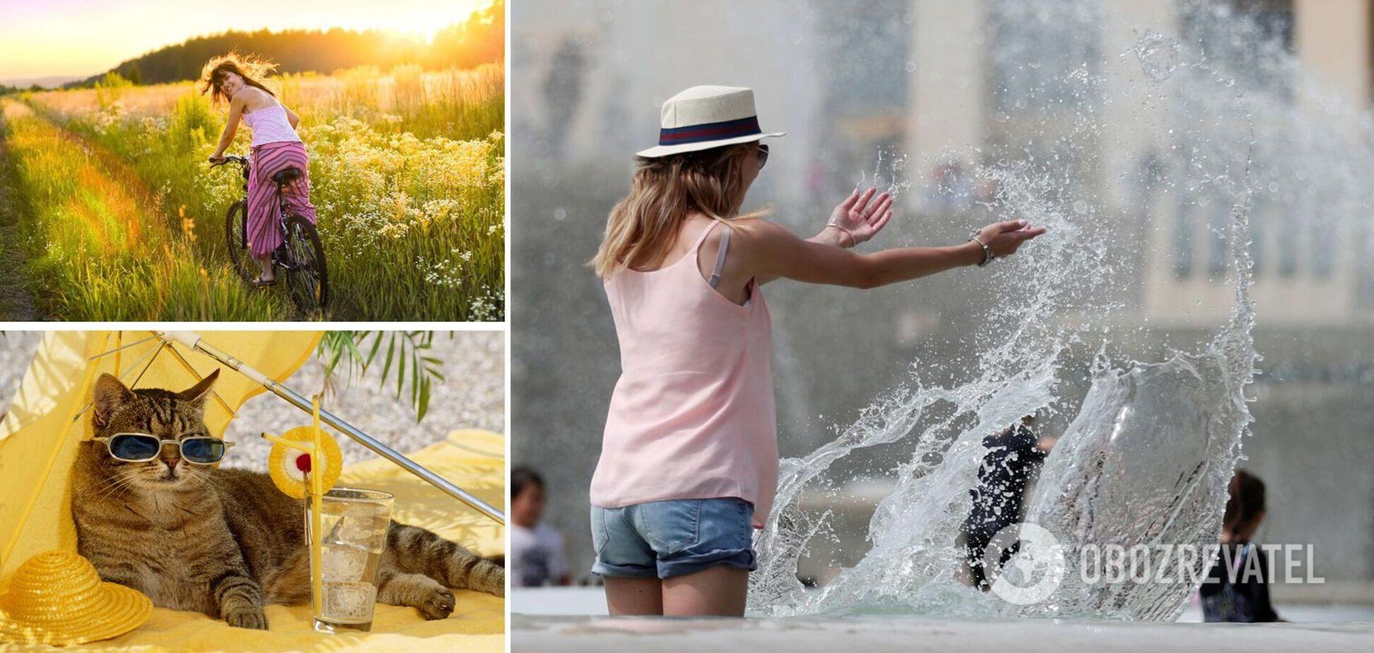 В Украину идет лето: синоптик сказала, когда закончатся дожди и где будет теплее всего. Прогноз