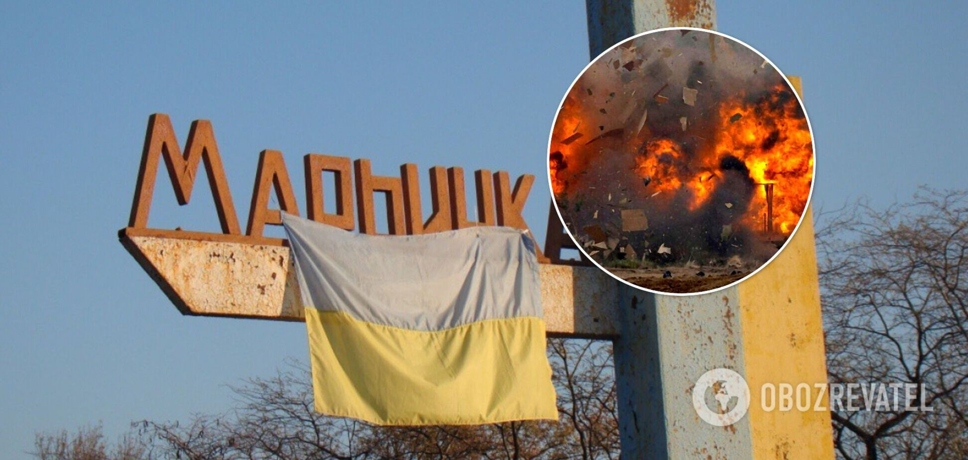 Боец Нацгвардии получил тяжелые ранения возле Марьинки: взрывом повредило глаз. Видео