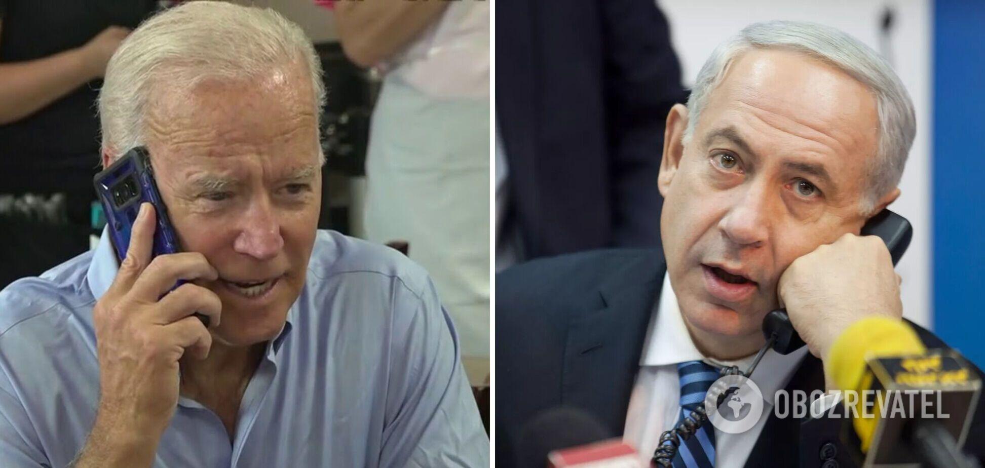 Байден переговорив з Нетаньяху