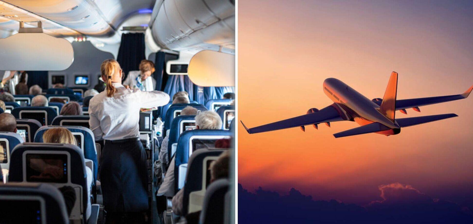 На борту самолета действуют особые правила поведения