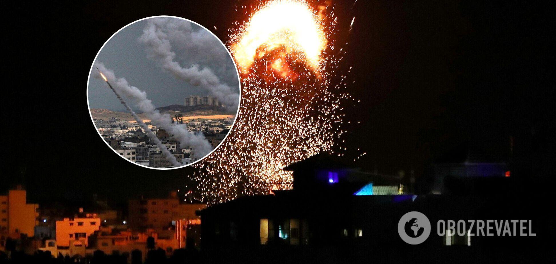 Ливан выпустил ракеты в сторону Израиля