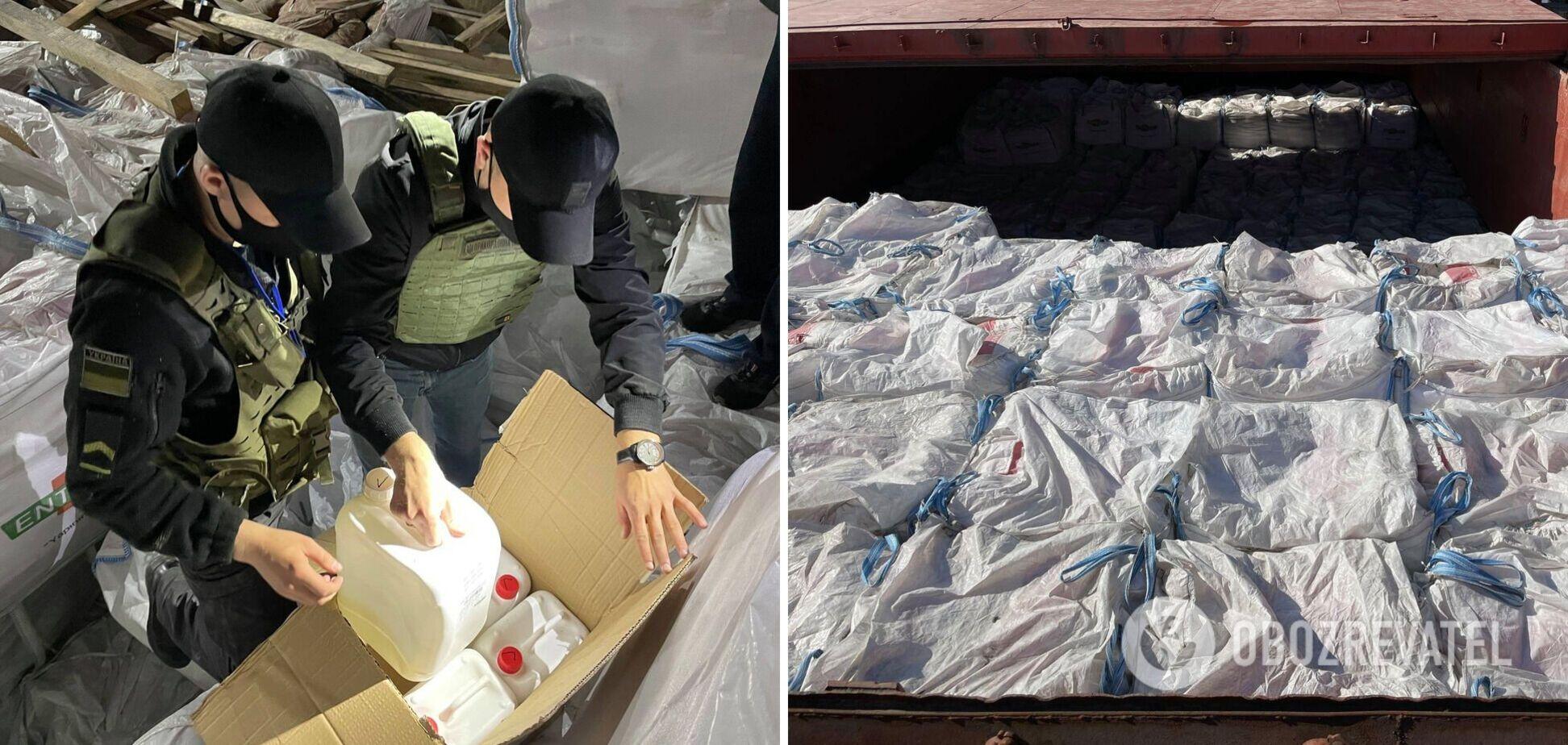У Миколаєві затримали рекордні 13 тонн контрабанди. Відео