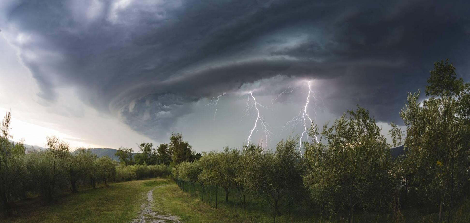 На Украину надвигается шторм