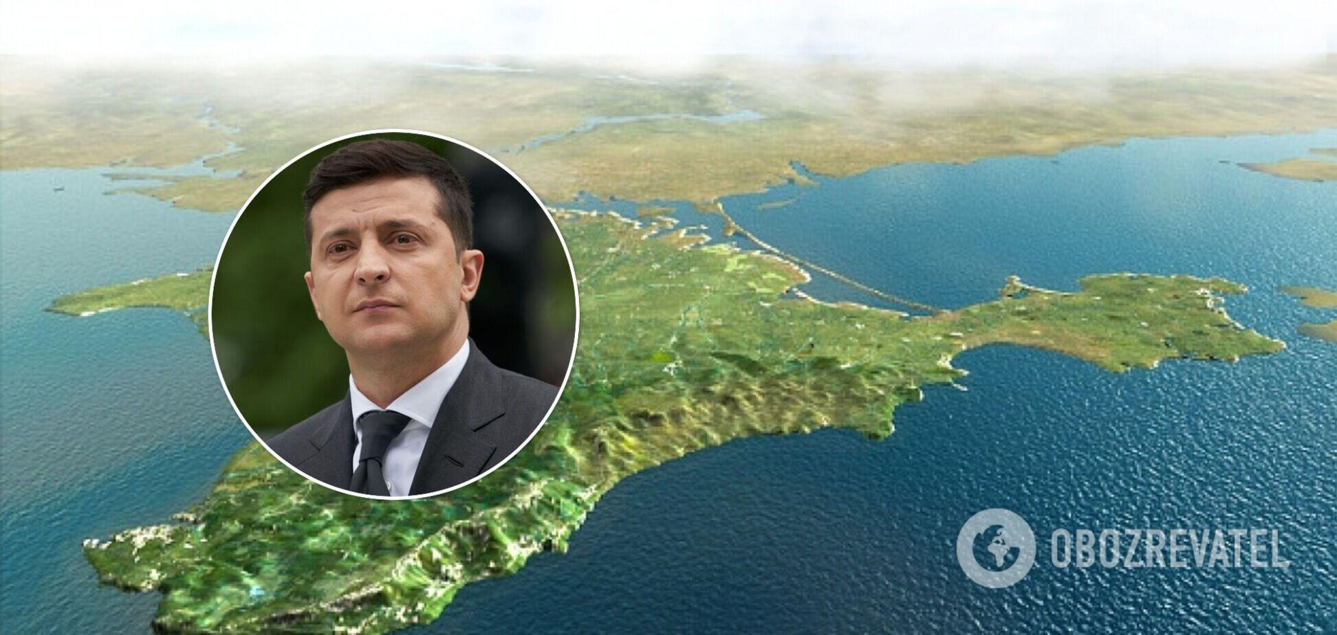 Зеленский: Украина делает все, чтобы вернуть Крым