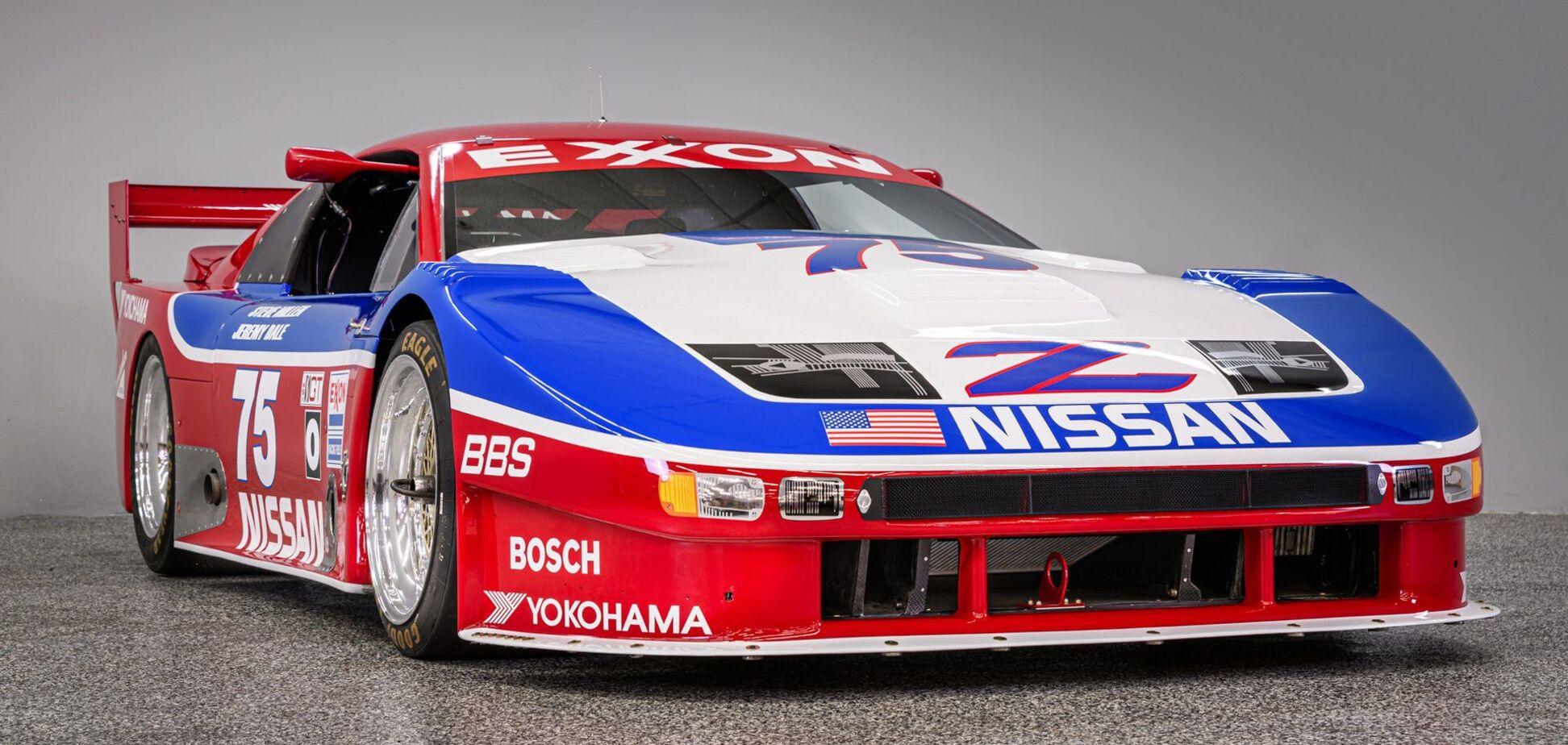 Титулованный гоночный болид Nissan выставили на аукционе