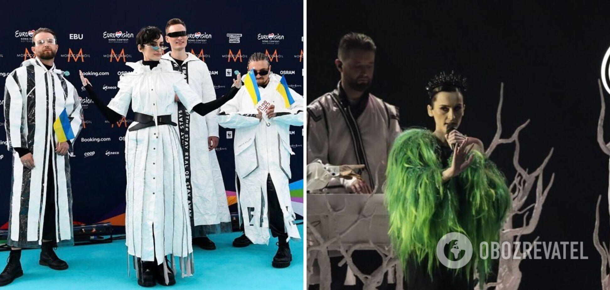 Украинской Go_A в полуфинале Евровидения 2021 зал аплодировал стоя. Фото и видео яркого шоу