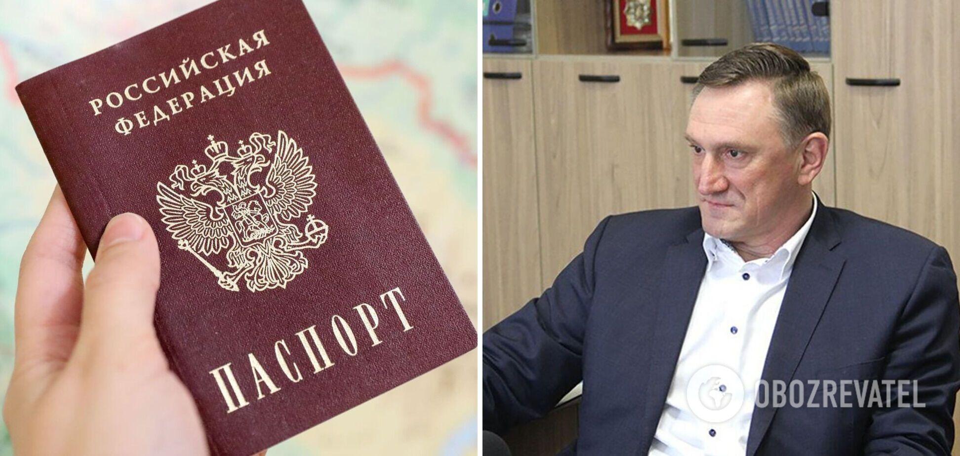 Аксенов сказал, есть ли у него российский паспорт