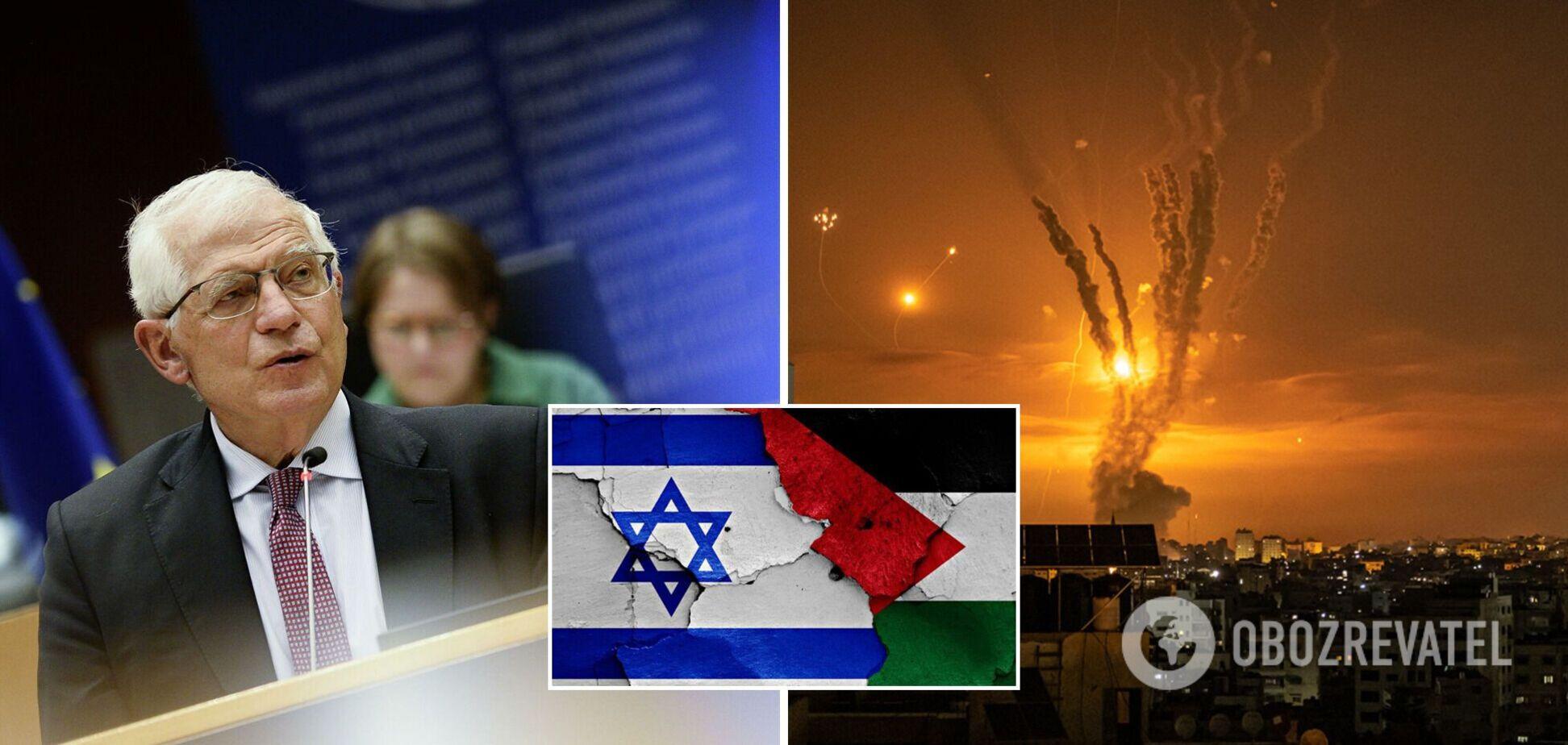 У ЄС закликали Ізраїль і Палестину до повного припинення вогню