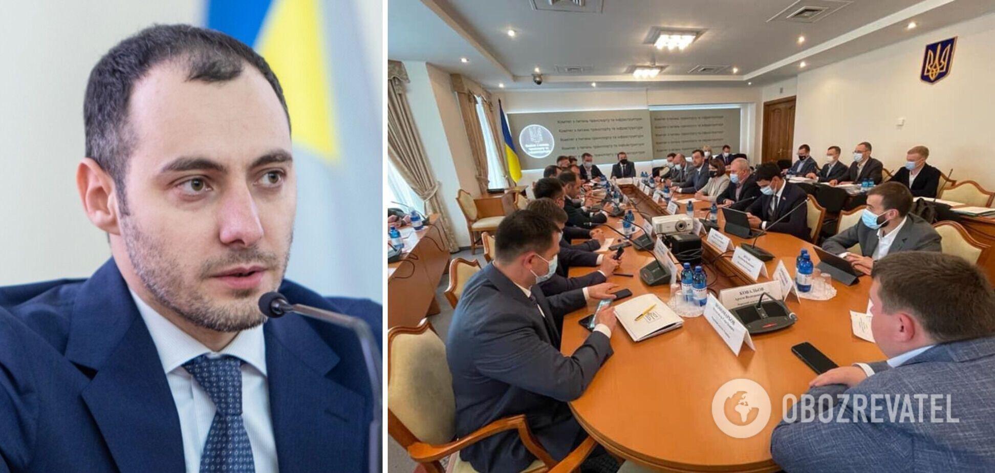 Комітет ВР підтримав призначення Кубракова міністром інфраструктури
