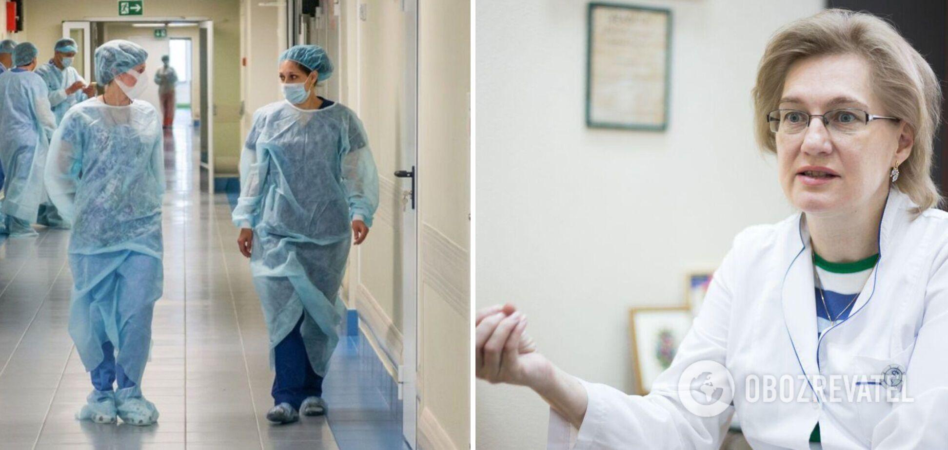 Голубовская рассказала о запугивании медиков и грядущей катастрофе в Украине