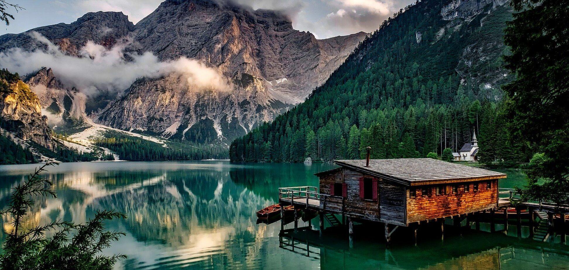 Затопленная деревня в Италии вышла из-под воды