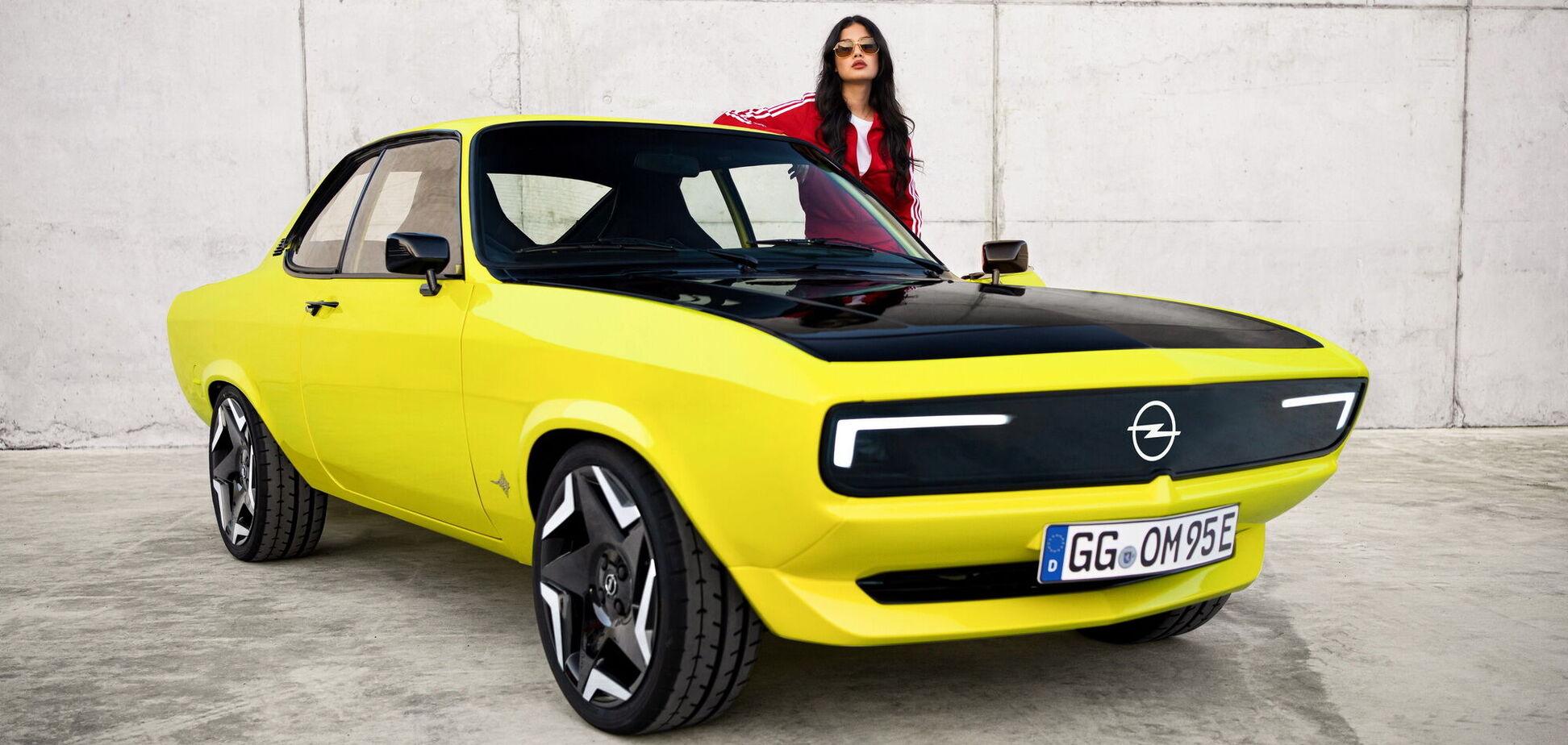 Opel презентовал электрический рестомод Manta