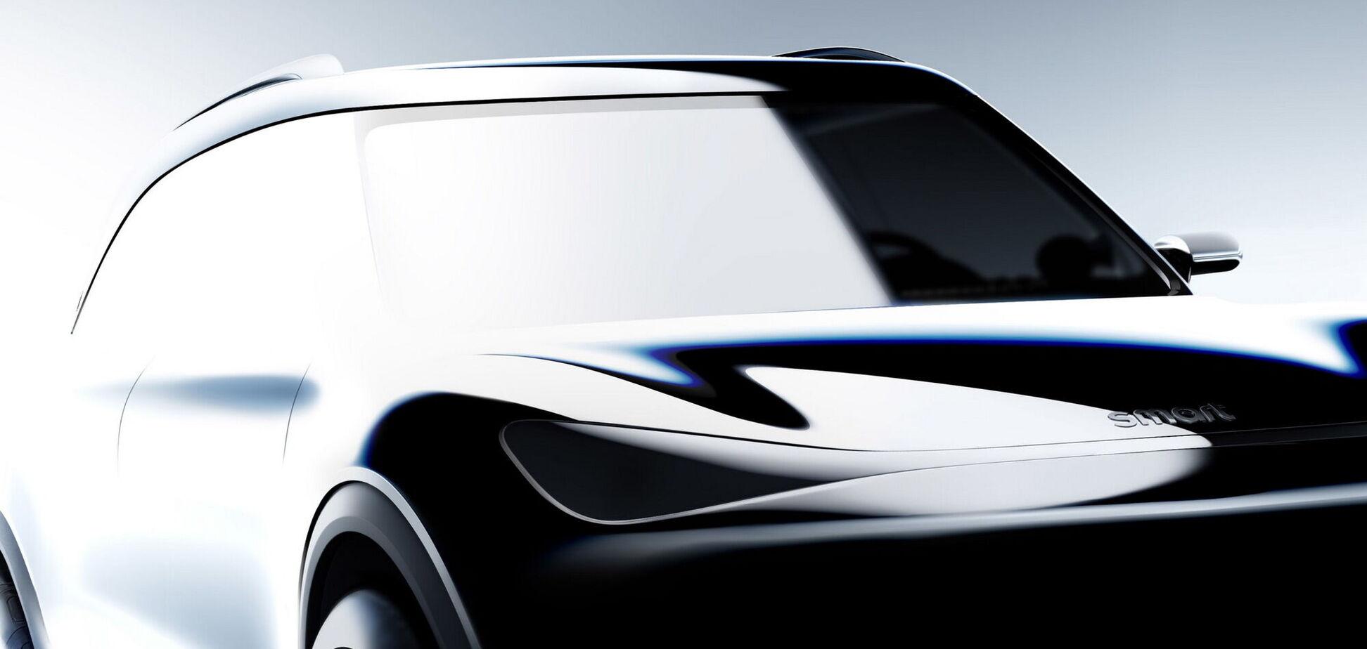 Новый Smart презентуют осенью на автошоу IAA`2021 в Мюнхене