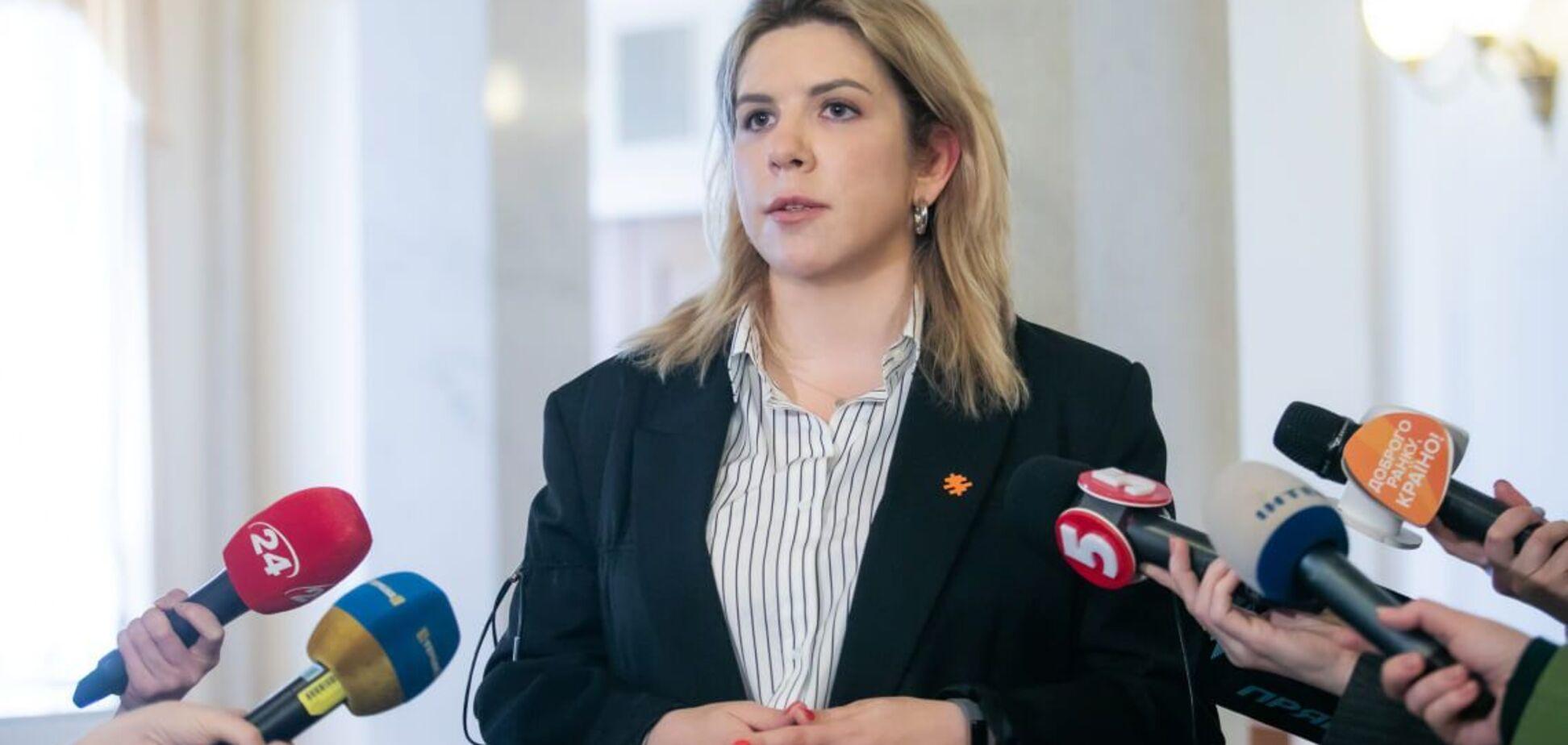 Кира Рудык: 'Голос' призывает поддержать постановление Костенко о ВСК по делу 'вагнеровцев'