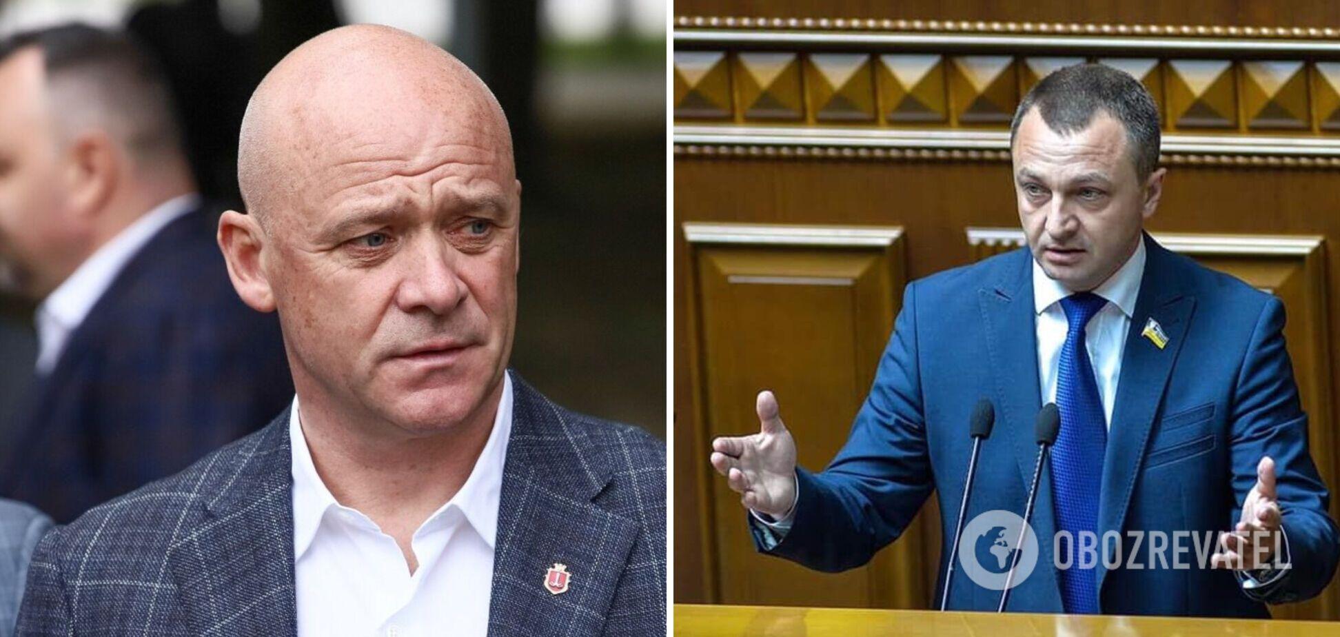 Труханов відповів на пропозицію замінити російськомовний гімн Одеси