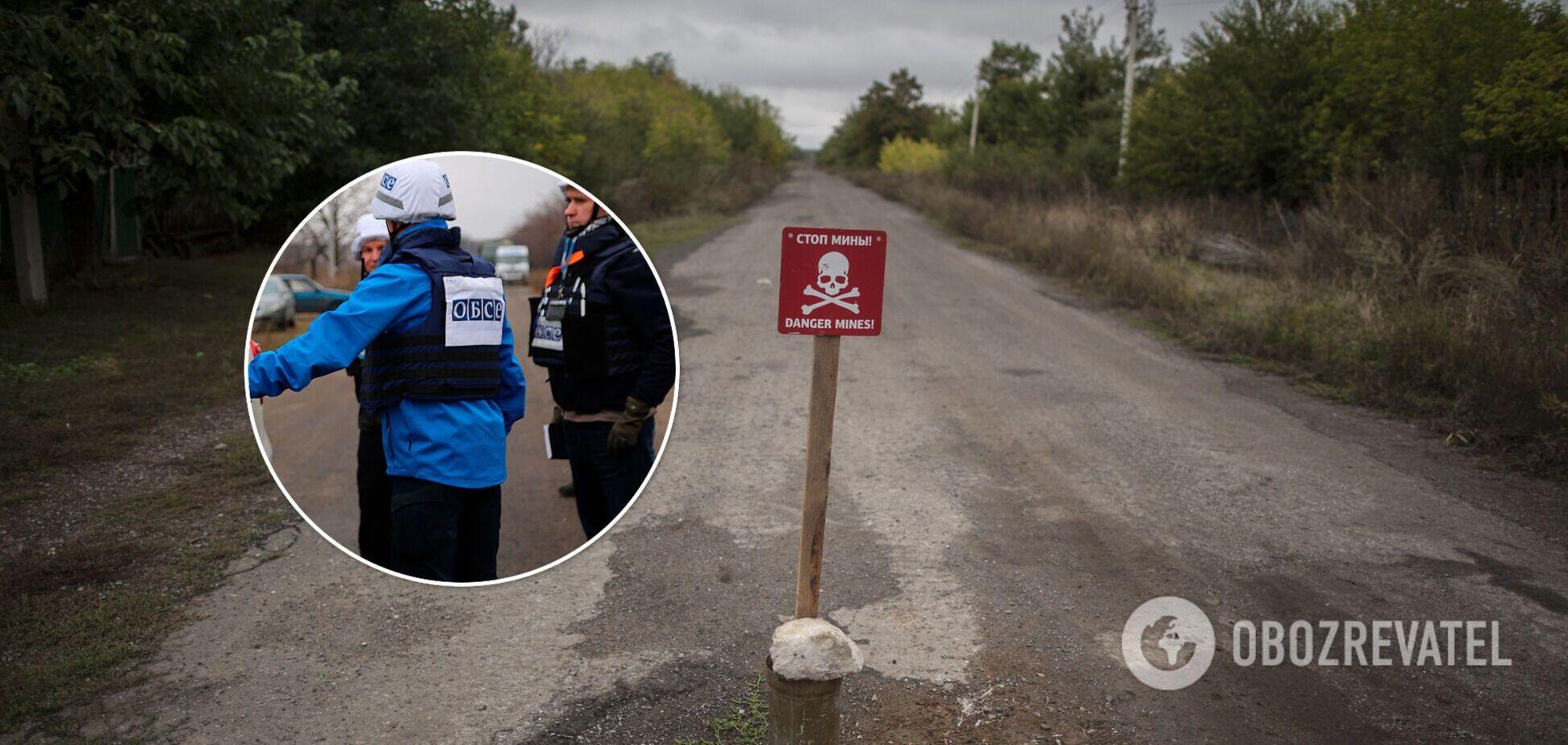 ОБСЄ виявили близько 2 тисяч протитанкових мін окупантів на Донбасі