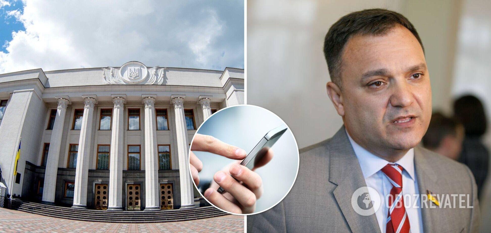 Народний депутат Віктор Чорний