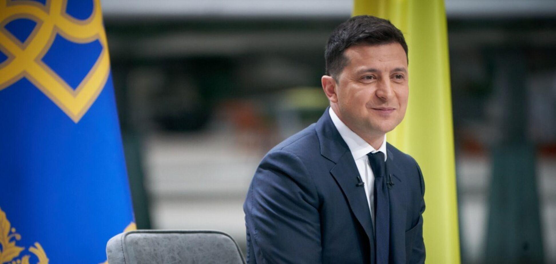 Зеленський заявив, що говорити про другий термін президентства поки зарано