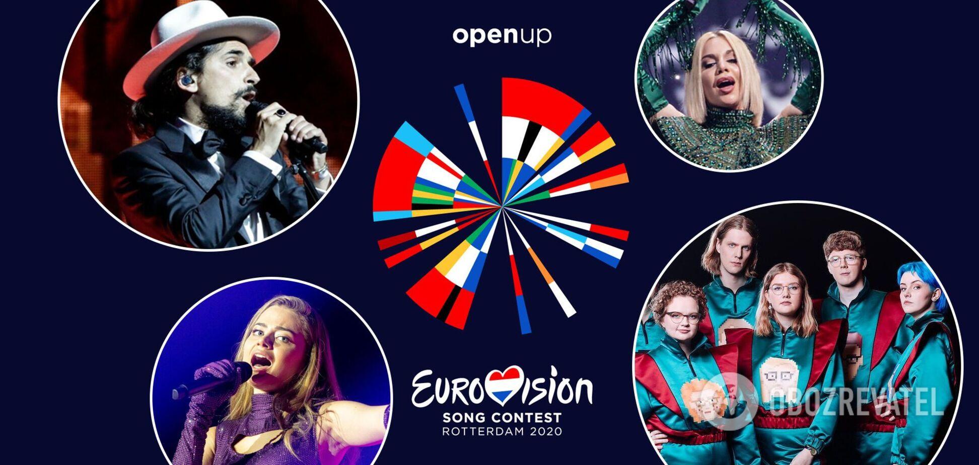 Евровидение 2021: названа вторая десятка финалистов конкурса