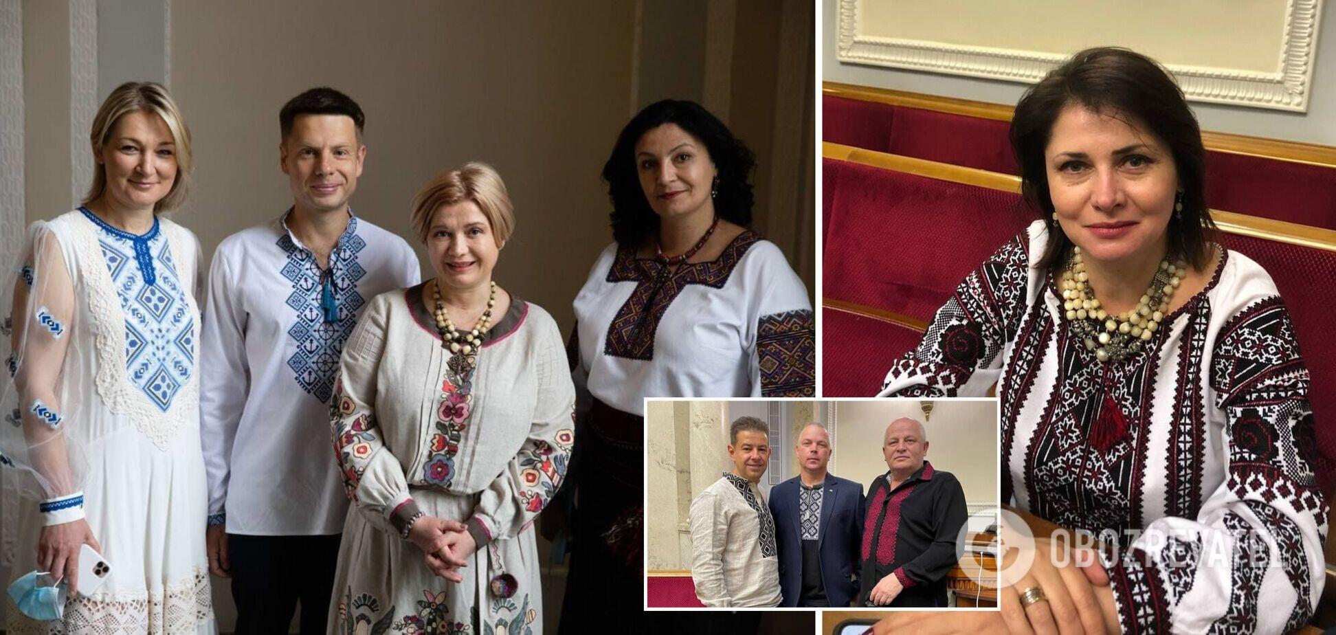 Партія Порошенка показала яскраву фотосесію у вишиванках