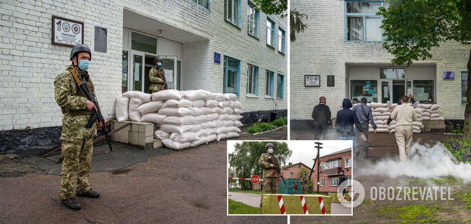 На Чернігівщині показали, як проходять навчання з тероборони. Фото