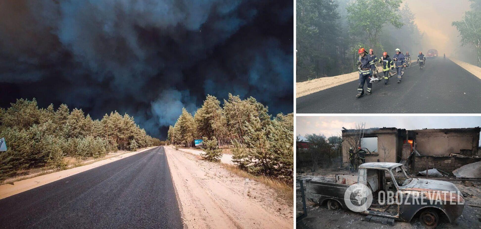 Пожары на Луганщине в июле 2020 года