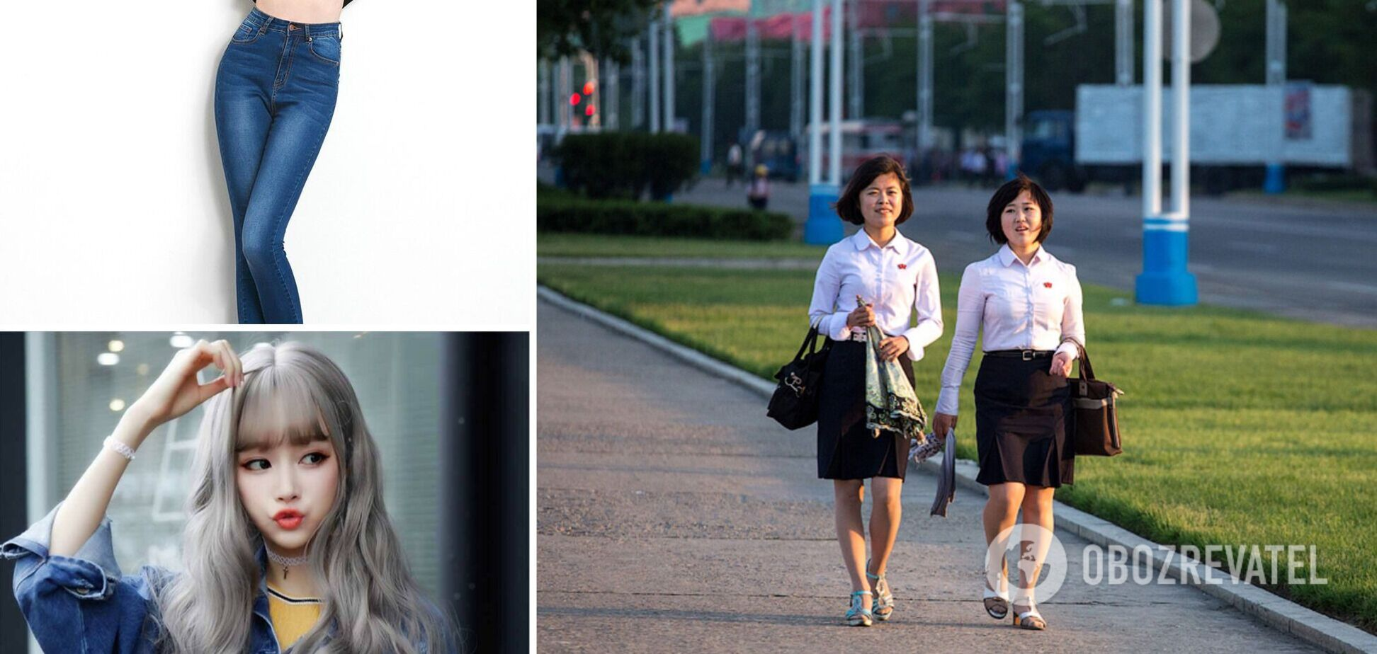 В Северной Корее действуют строгие правила дресс-кода