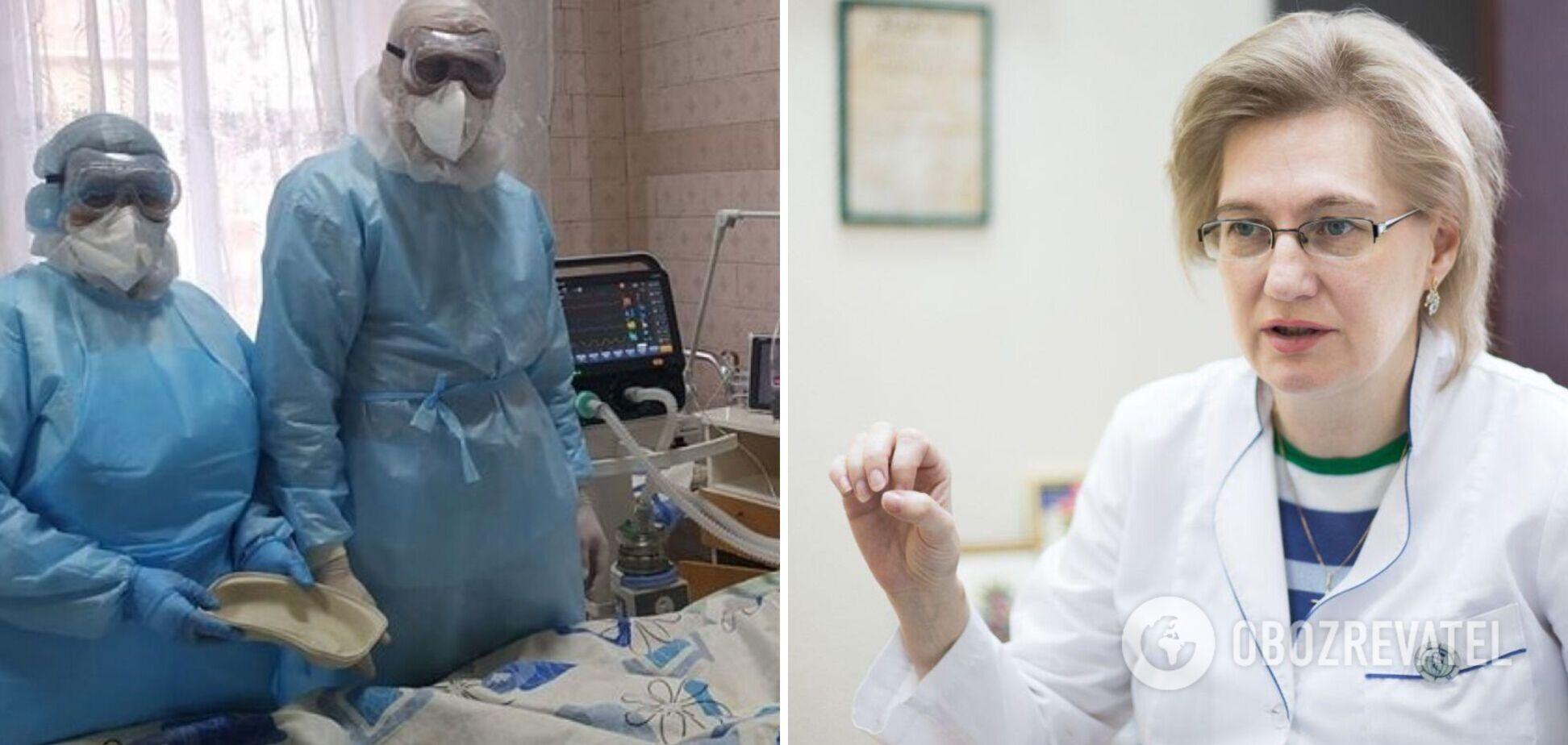 Голубовская: Украина не лидер по смертности от COVID-19, хватит оскорблять медиков