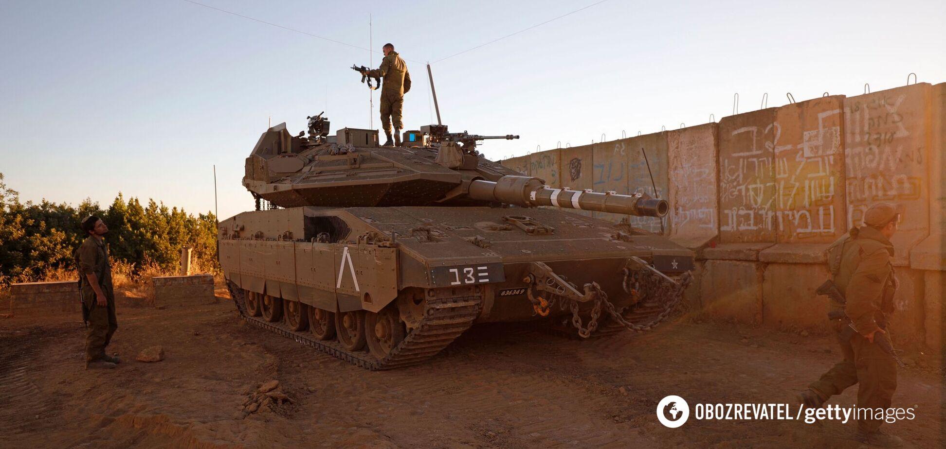Израиль атаковали с территории Ливана