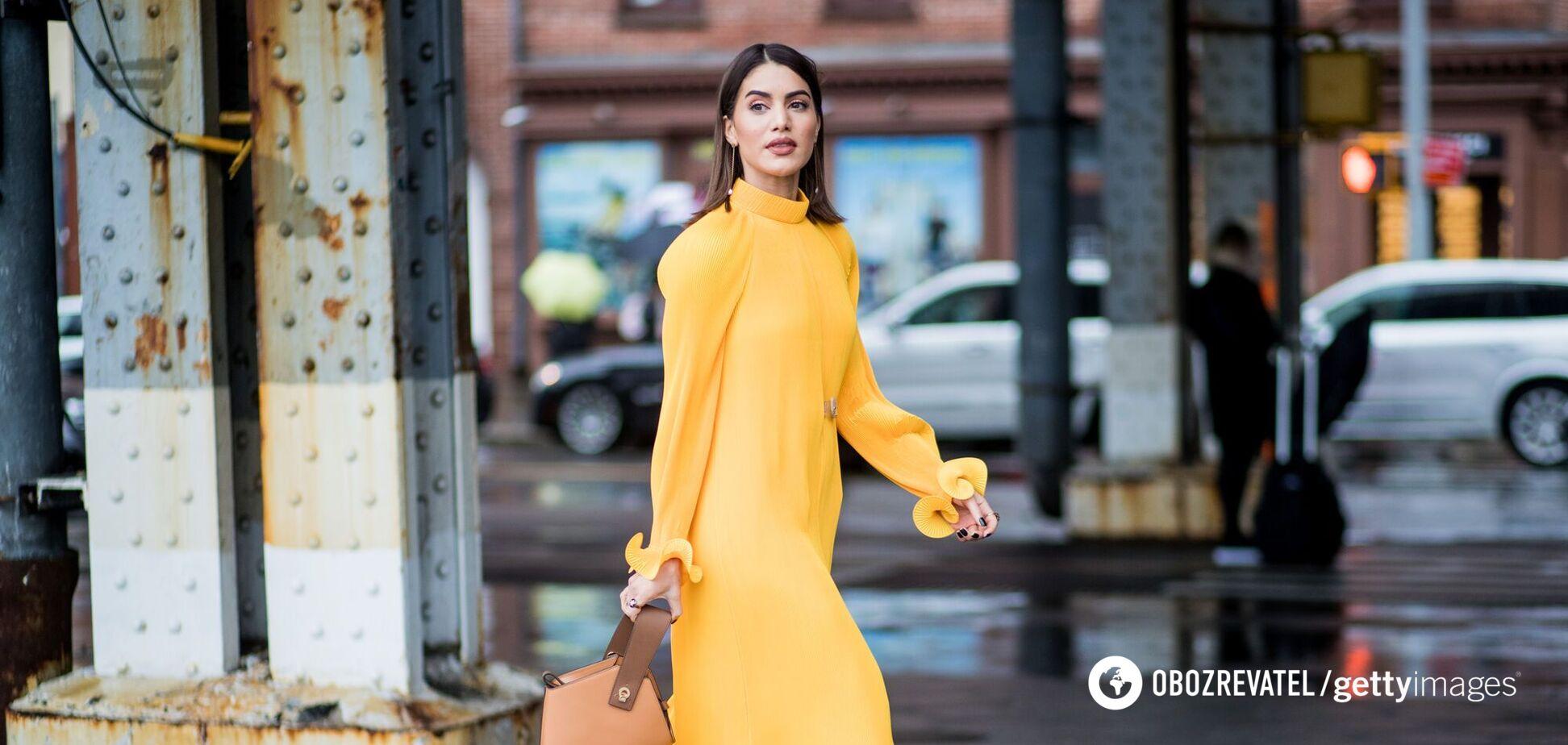 Платье в пасторальном стиле в моде летом 2021