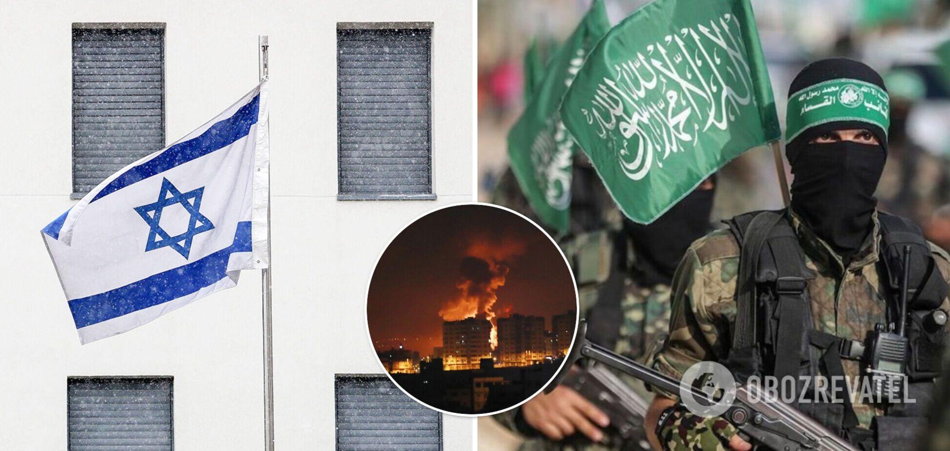 Противостояние между Израилем и ХАМАС