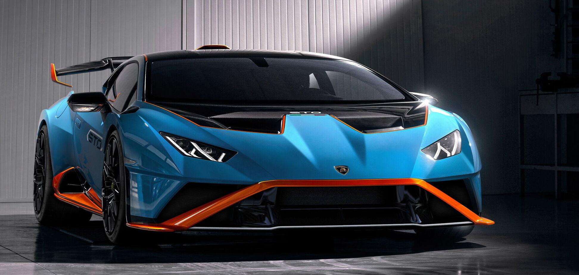 Lamborghini тестує на Нюрбургринзі новий Huracan STO