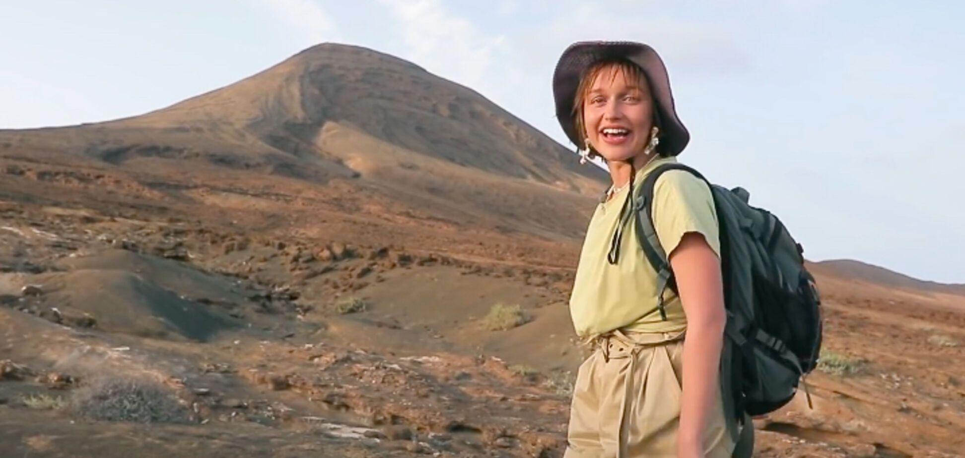 Ведущая 'Орла и Решки' не смогла покорить гору, котораяпод силу даже ребенку