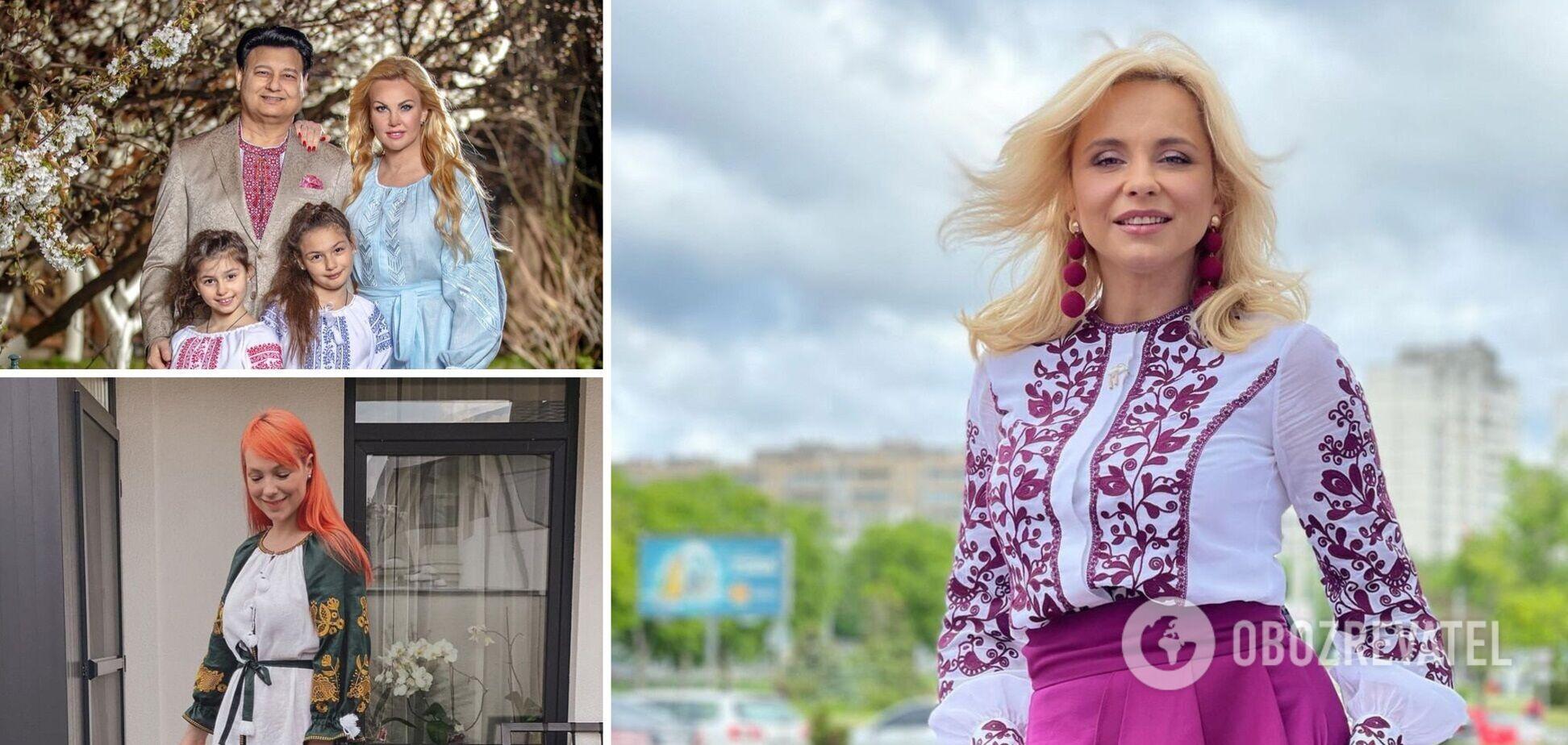 Як українські зірки відзначають День вишиванки: з'явилися яскраві фото