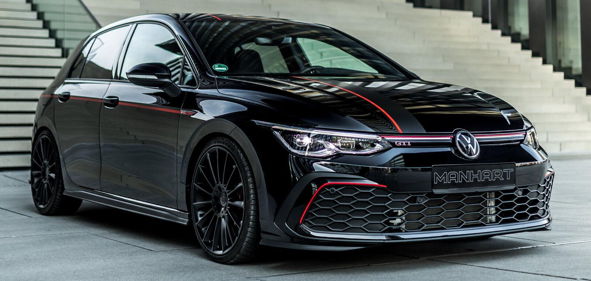 Ателье Manhart добавило Golf GTI опцию в стиле Rolls-Royce