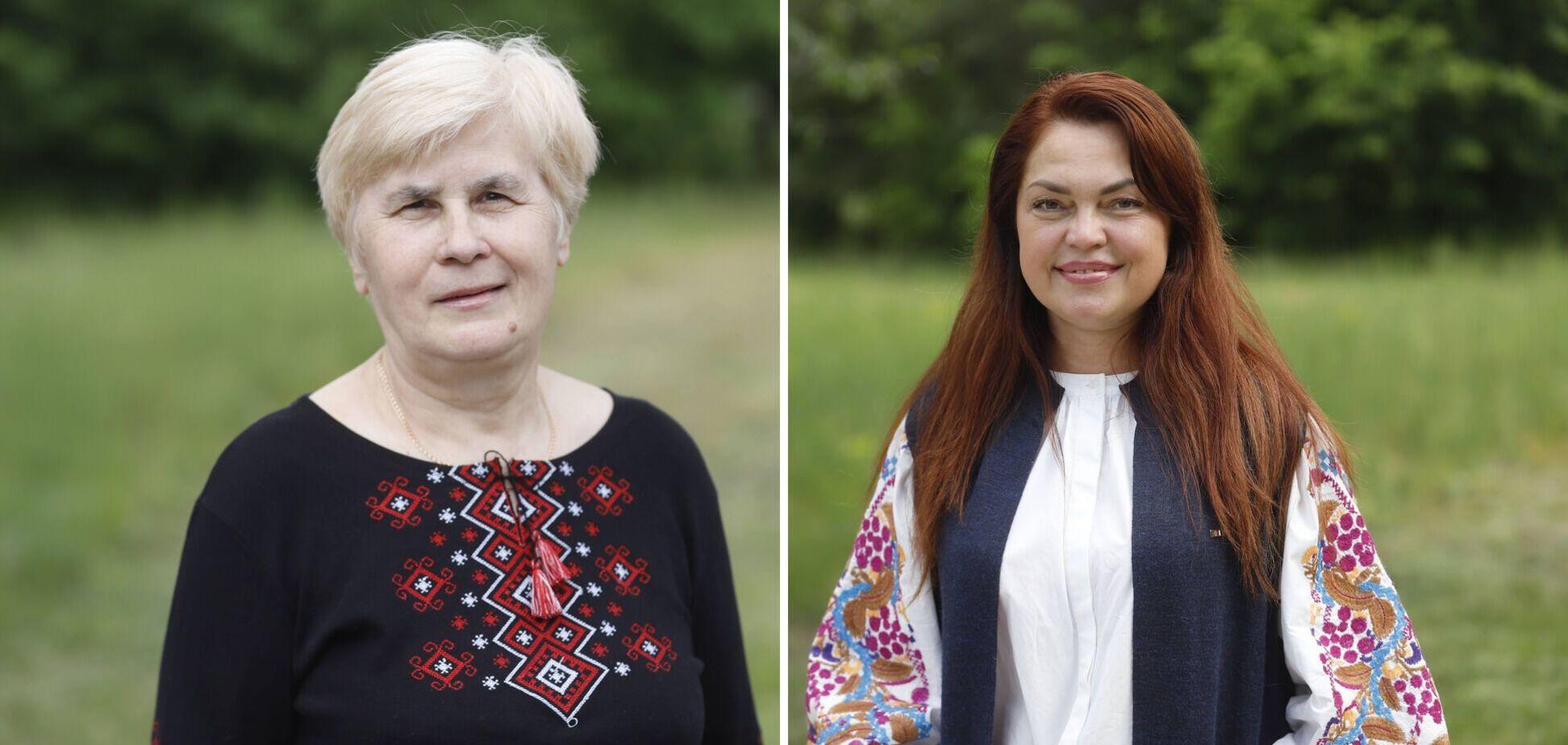 В муниципальном лагере 'Золотой возраст' провели показ вышиванок: дефилировали отдыхающие