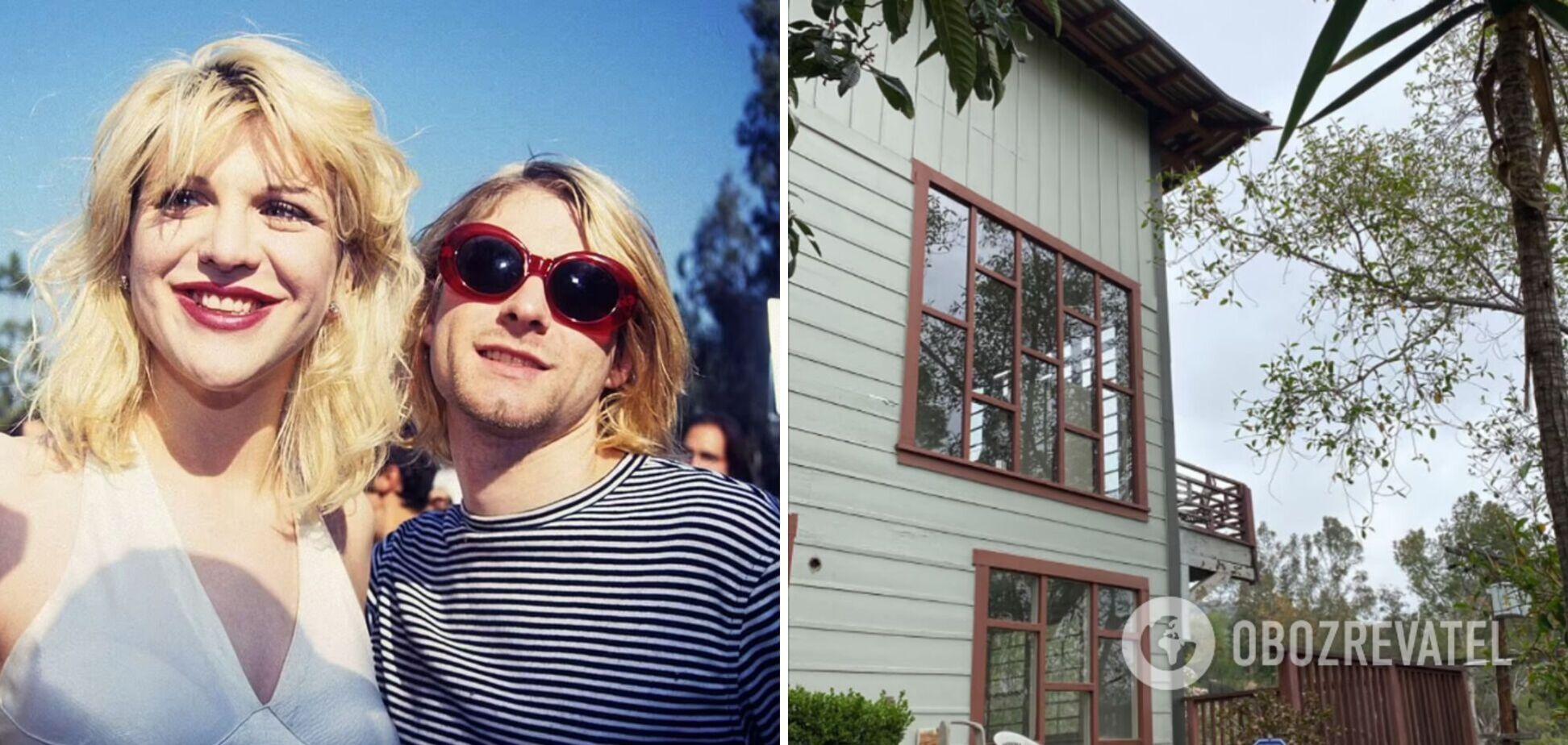 Покинутий будинок Курта Кобейна і Кортні Лав продають майже за $1 млн