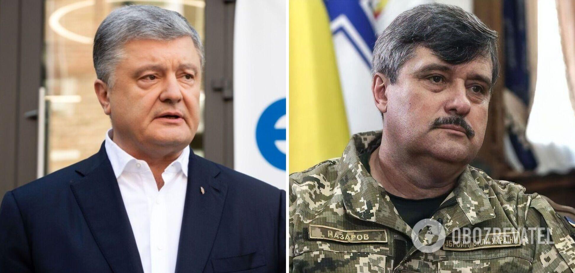 Порошенко– про виправдання генерала Назарова: справжній винуватецькатастрофи Іл-76 – Путін