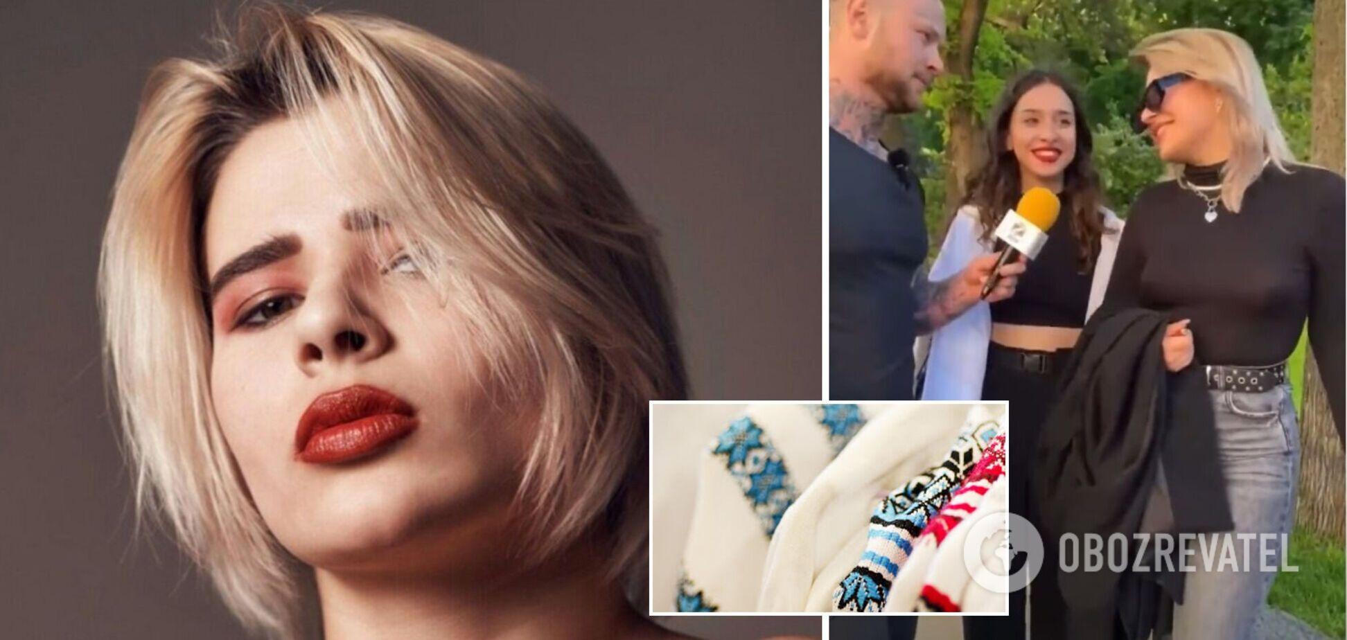 Харьковчанку, назвавшую б*длом людей в вышиванках, уличили в работе вебкам-моделью. Фото 18+